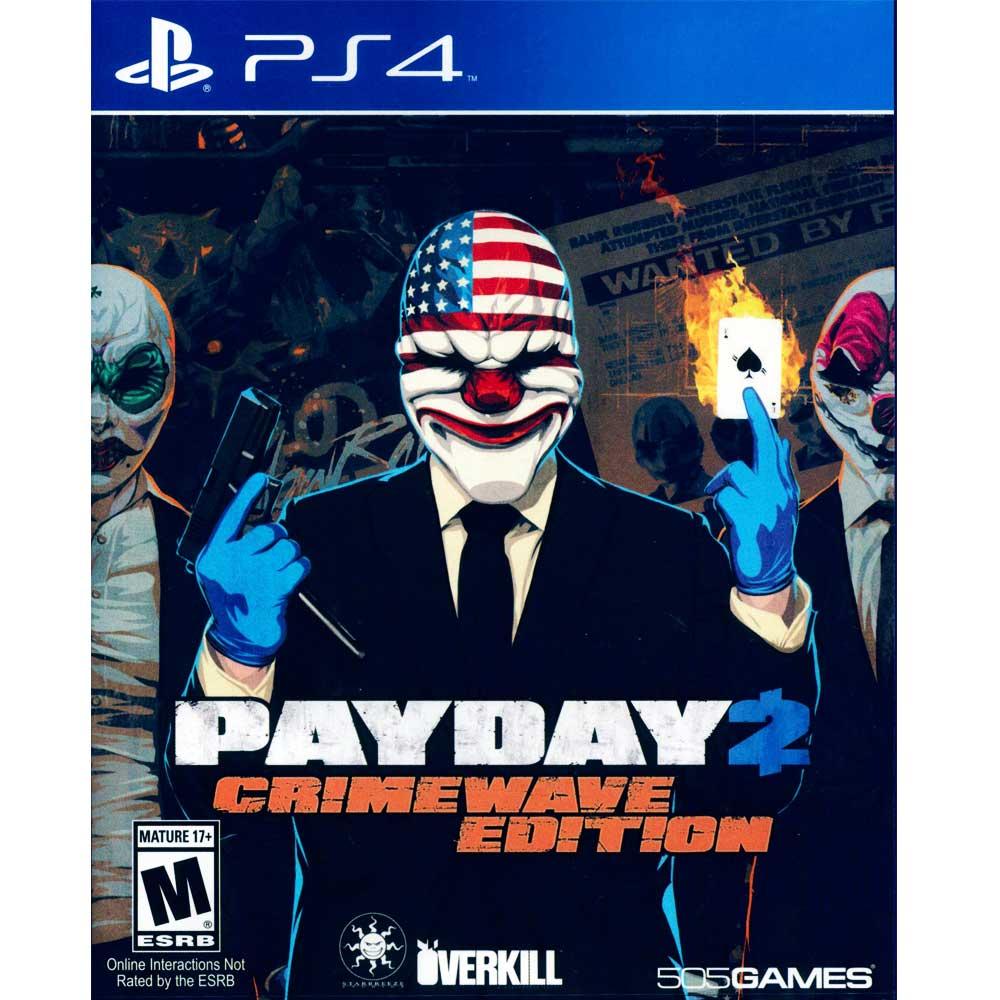 PS4 劫薪日 2 犯罪狂潮版 英文美版 PAYDAY 2: CRIMEWAVE EDITION