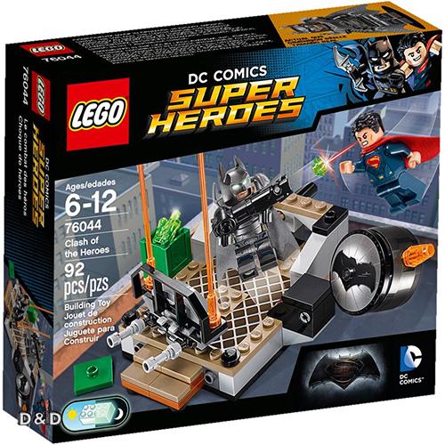 高積木 LEGO《 LT76044 》2016 年 SUPER HEROES 超級英雄系列 - Clash of the Heroes
