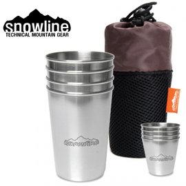 【鄉野情戶外用品店】 Snowline  韓國   不鏽鋼Beer杯+燒酒杯 8入/不鏽鋼飲料杯/SN35UCW004