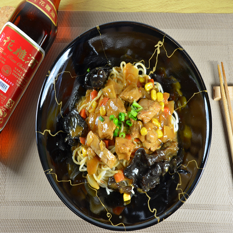 【禾禾廚房】花雕雞調理包(可選擇要不要加麵) 醬料包:280g/1入,功夫拉麵160g/1入