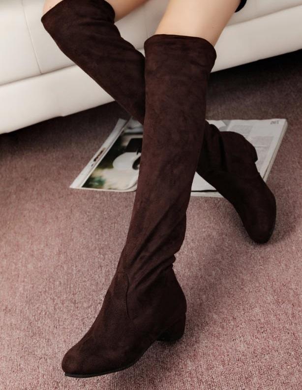 Ms.Perfect 高筒靴超長過膝靴子平底長靴