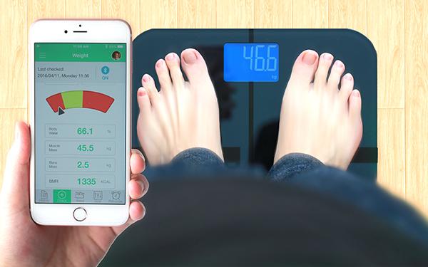 [亞果元素] BF1智慧藍牙體脂計使用app輕鬆管理健康數據