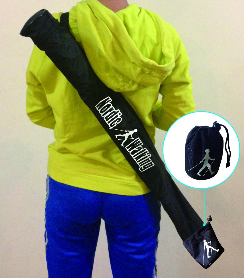 【君好健走杖】登山杖、健走杖、柺杖、老人杖、 專業攜行袋  82x12cm