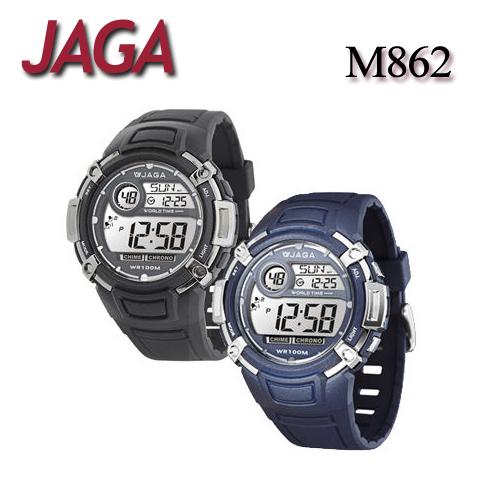 JAGA 捷卡 M862 樂活時尚休閒錶 多功能電子錶 運動錶 女錶/男錶/中性錶/手錶