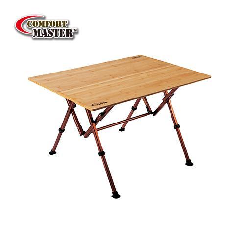 【露營趣】中和 附野餐籃 Coleman舒適達人休閒竹桌/100 休閒桌 竹板桌 摺桌 摺疊桌 CM-7006J