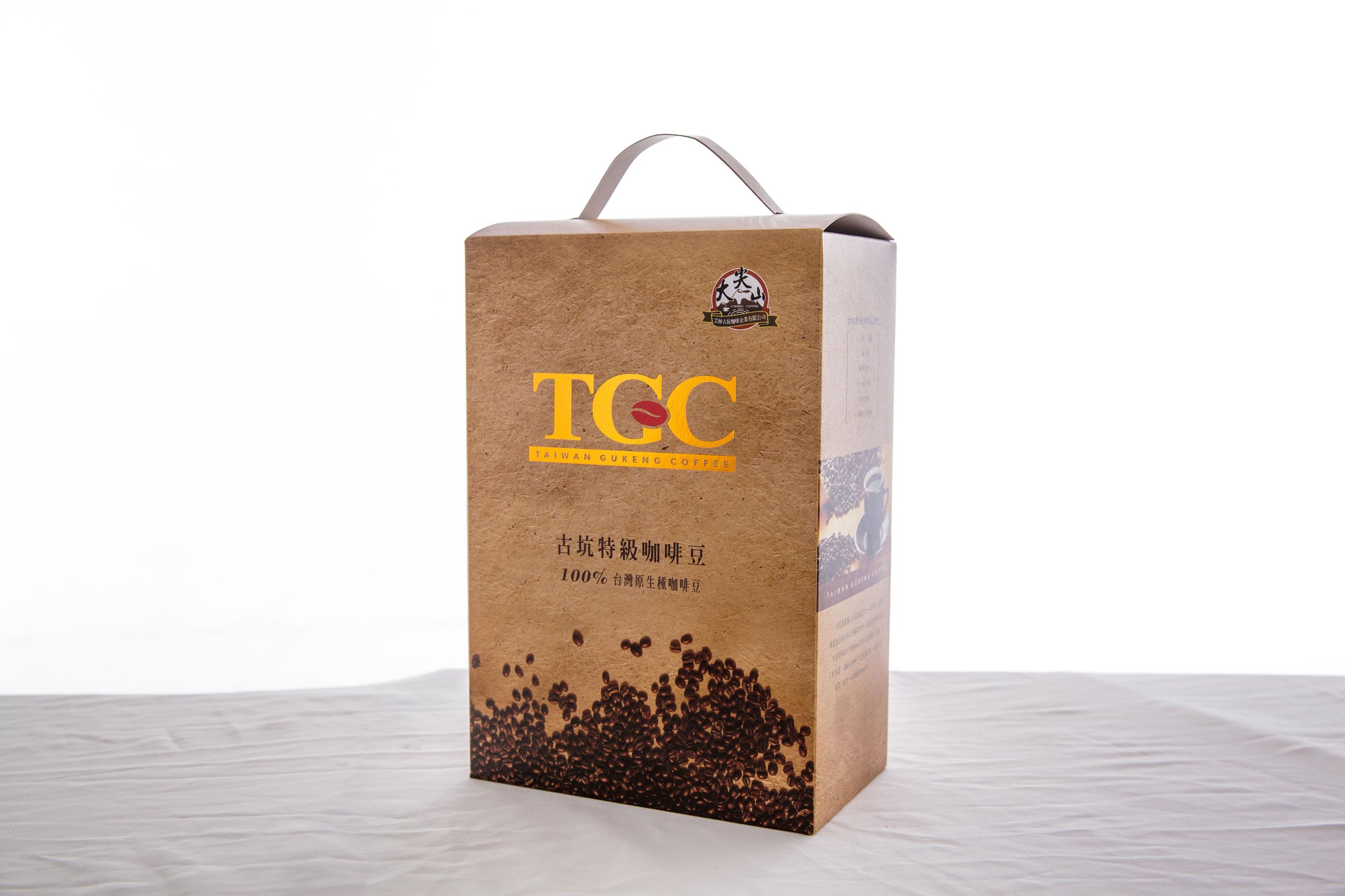 [古坑咖啡~TGC]台灣古坑特級咖啡豆-半磅