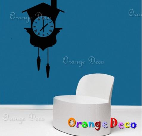 【橘果設計】時鐘 DIY組合壁貼 牆貼 壁紙 無痕壁貼 室內設計 裝潢 裝飾佈置