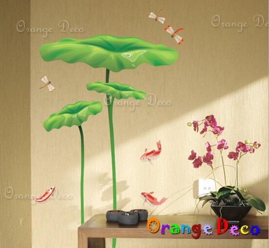 【橘果設計】鯉魚 DIY組合壁貼 牆貼 壁紙 無痕壁貼 室內設計 裝潢 裝飾佈置