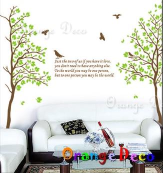 【橘果設計】相思樹 DIY組合壁貼 牆貼 壁紙 無痕壁貼 室內設計 裝潢 裝飾佈置