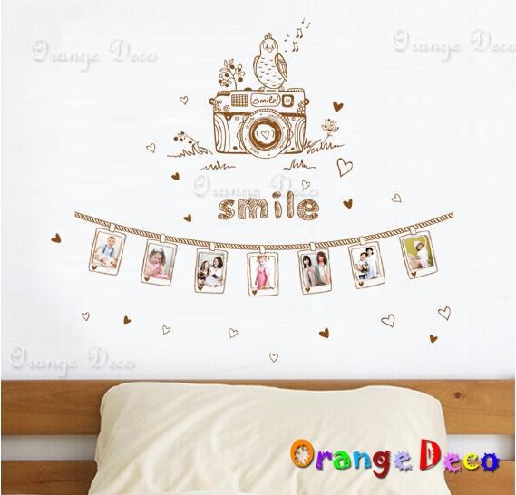 【橘果設計】相片照相機 DIY組合壁貼 牆貼 壁紙 無痕壁貼 室內設計 裝潢 裝飾佈置