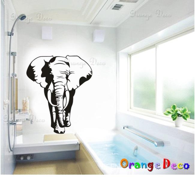【橘果設計】藝術大象 DIY組合壁貼 牆貼 壁紙 無痕壁貼 室內設計 裝潢 裝飾佈置
