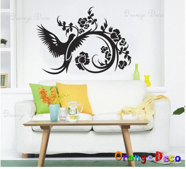 【橘果設計】藝術鳥 DIY組合壁貼 牆貼 壁紙 無痕壁貼 室內設計 裝潢 裝飾佈置