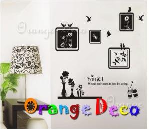 【橘果設計】藝術牆 DIY組合壁貼 牆貼 壁紙 無痕壁貼 室內設計 裝潢 裝飾佈置