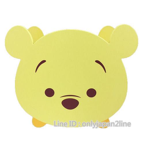 【真愛日本】16112600003TSUMTSUM木頭筆筒-維尼   迪士尼 維尼家族 POOH   筆筒  收納盒  文具