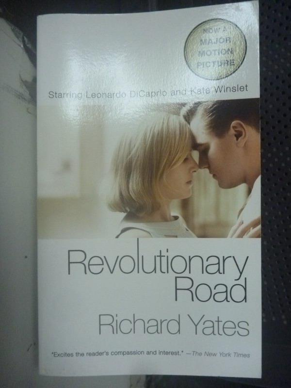 【書寶二手書T1/原文小說_LGL】Revolutionary Road_Yates, Richard