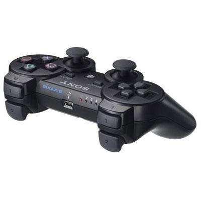 PS3 原廠無線震動手把(黑) /CECHZC2T