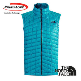 The North Face 男 PrimaLoft ? ThermoBall? 保暖背心 瓷釉藍 C940