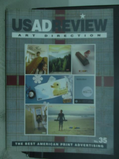 【書寶二手書T4/設計_QXY】Usadreview_35期_The best american print...