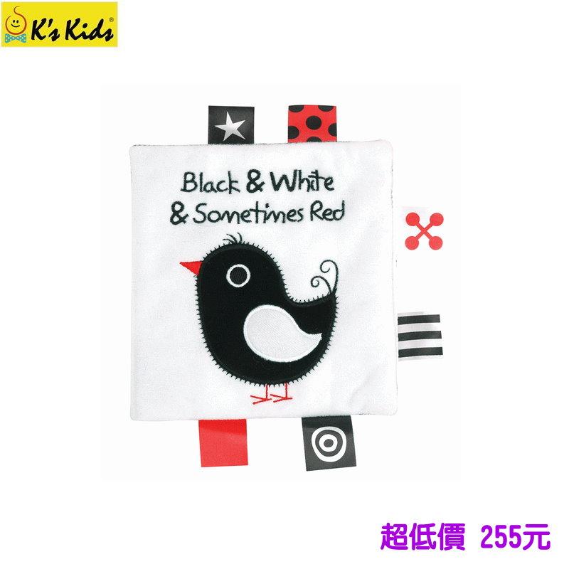 *美馨兒* K's Kids 奇智奇思 - Black and White and sometimes Red黑白紅 255元