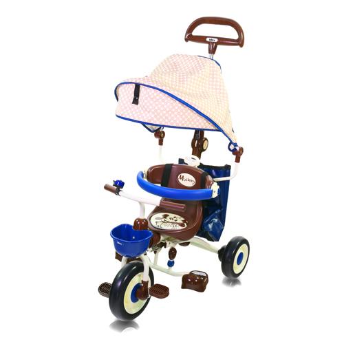 米奇摺疊敞篷三輪車/ ides/ 迪士尼/ 可折疊/ 三輪車/ 兒童騎乘/ 伯寶行