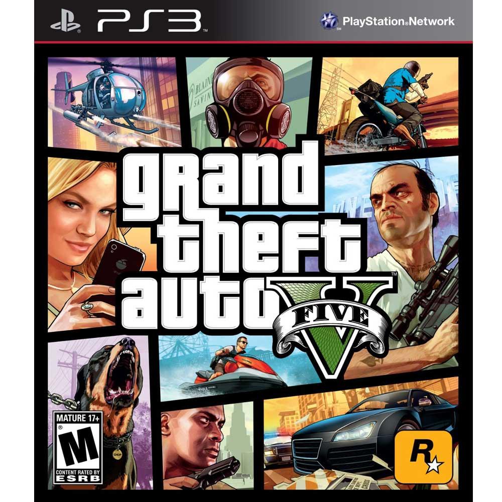 (現貨全新) PS3 GTA5 俠盜獵車手5 中英文美版 grand theft auto V