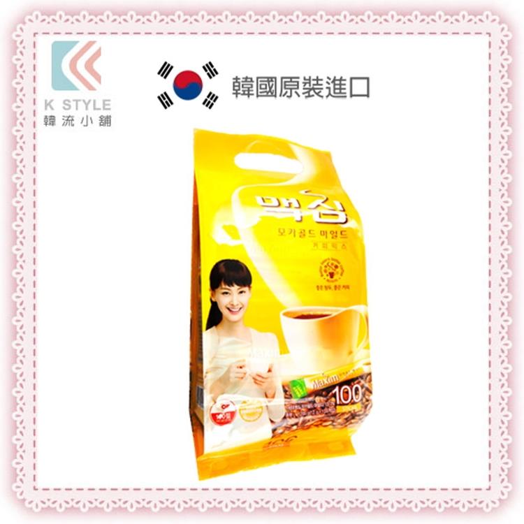 【 韓流小舖 】韓國原裝-MAXIM 三合一 咖啡 隨身包 100入/袋 韓國咖啡