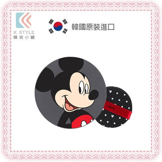 【THE FACE SHOP】 迪士尼聯名 兒童專用 氣墊粉餅 米奇