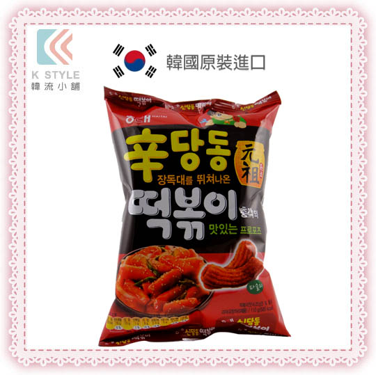 【韓國HAITAI】 海太 元祖 辣炒年糕餅乾
