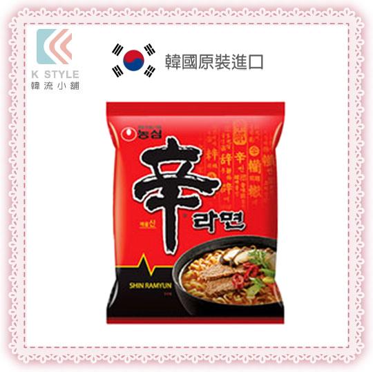 【 韓流小舖 】韓國原裝-辛拉麵 (單包裝) NONG SHIM 農心 正版韓國內銷