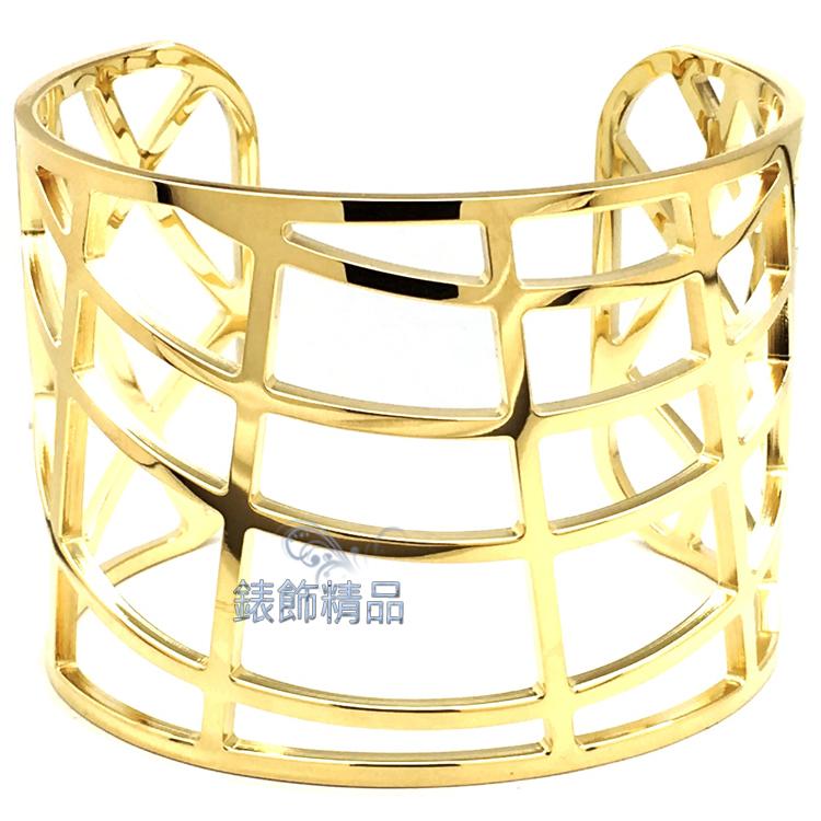 【錶飾精品】CK飾品Calvin Klein女性手環 白鋼KJ1TJF1001-金 摩登都會感 全新原廠正品 情人禮品