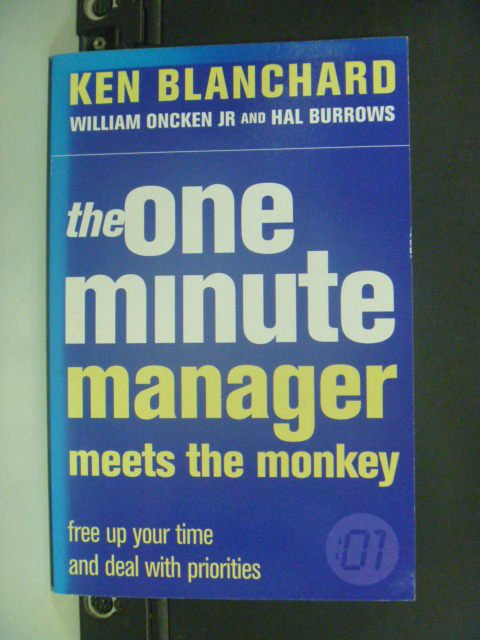 【書寶二手書T2/財經企管_IKD】The One Minute Manager Meets…