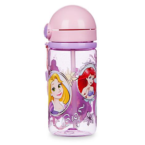 《★美國Disney Store迪士尼官方》公主系列 吸管水壺 美國代購 平行輸入 溫媽媽