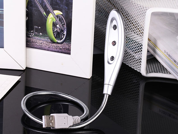 BO雜貨【SV6148】USB蛇形燈 護眼夜 筆電燈 三顆LED燈 電腦燈 鍵盤燈 保護您的眼睛