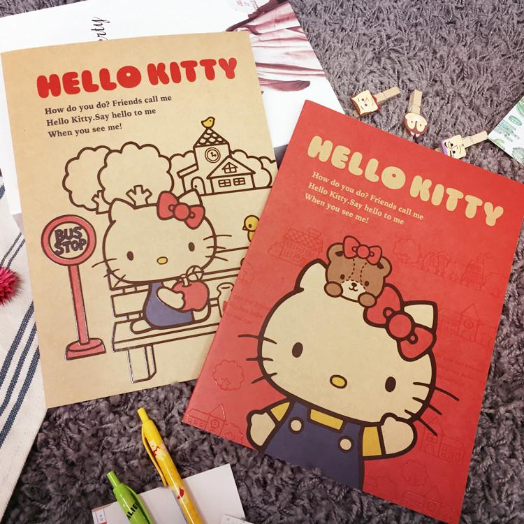 PGS7 (現貨+預購) 日本迪士尼系列商品 - 三麗鷗 Kitty 2017 月計畫本 筆記本 記事本 行事曆 hello kitty