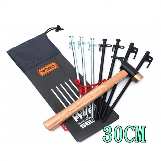 30cm牛津布營釘收納袋 / 大黑釘袋 / 工具袋 / 營槌 / 收納包 / 工具包 / A054