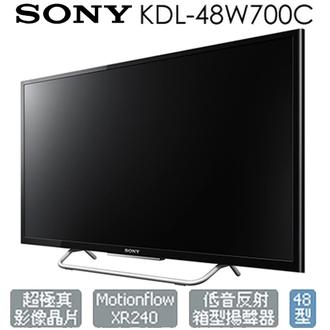 【限量福利出清】SONY KDL-48W700C 電視 48吋 FHD Wifi 公司貨