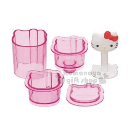 〔小禮堂〕Hello Kitty 一口壽司壓模《迷你》超可愛一口小壽司