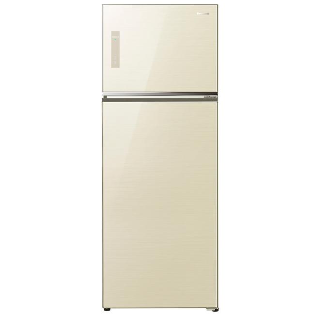 【國際牌Panasonic】ECONAVI  485L雙門變頻電冰箱。翡翠金/(NR-B487TG/NR-B487TG-N)