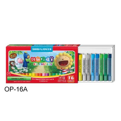 【雄獅】 OP-16A 粉蠟筆 16色