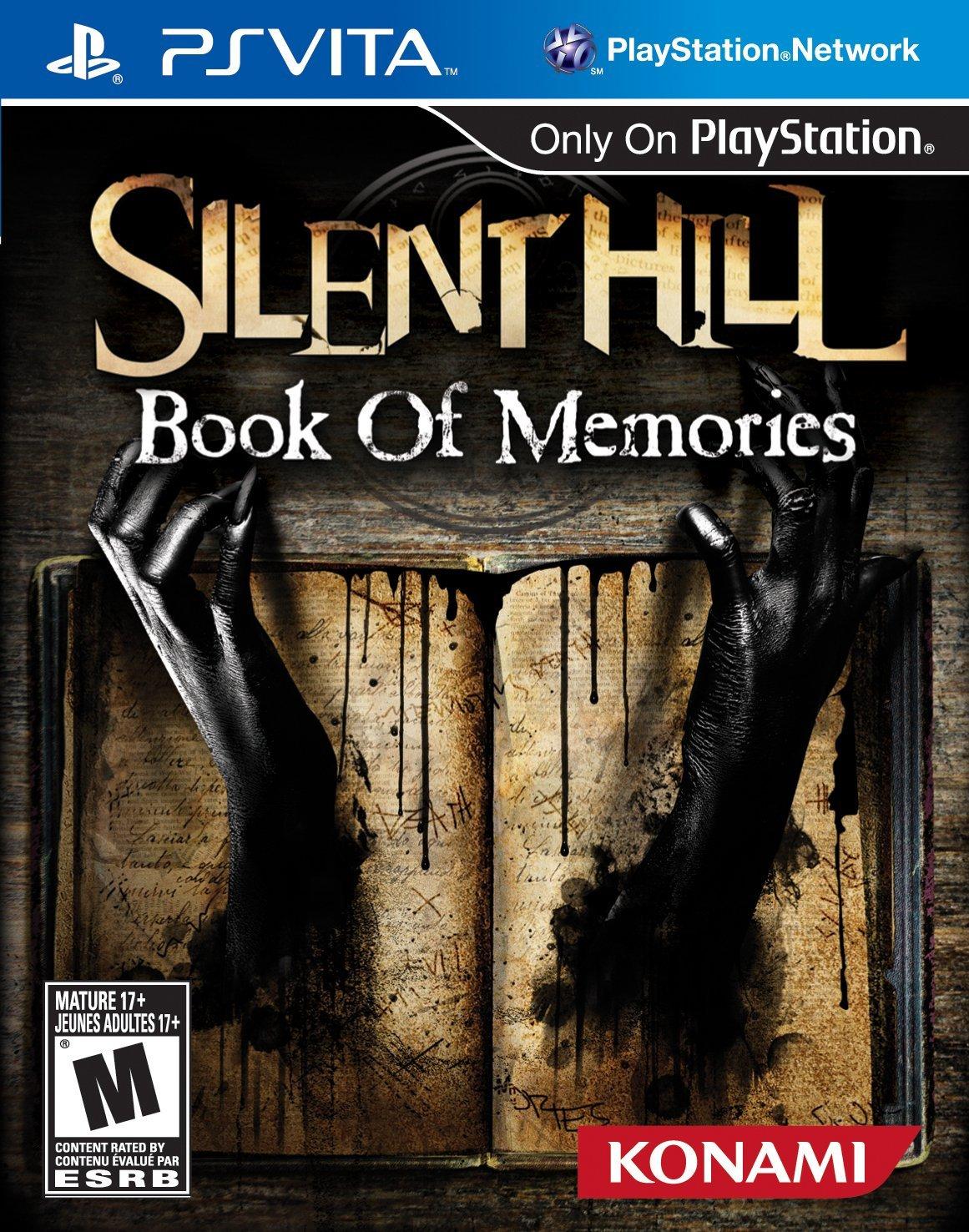 PSV 沉默之丘:回憶之書 -英文美版- Silent Hill: Book of Memories