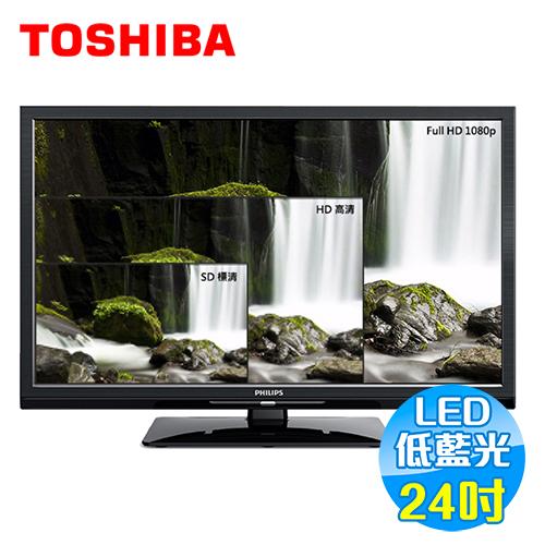 飛利浦 Philips 24吋 淨藍光 液晶電視 24PFH4200