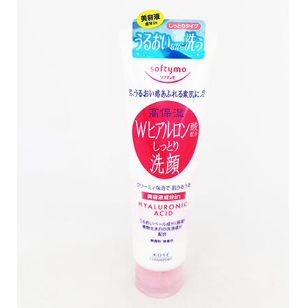 [敵富朗超市]KOSE softymo絲芙蒂玻尿酸高保溼深層洗面乳(150g)