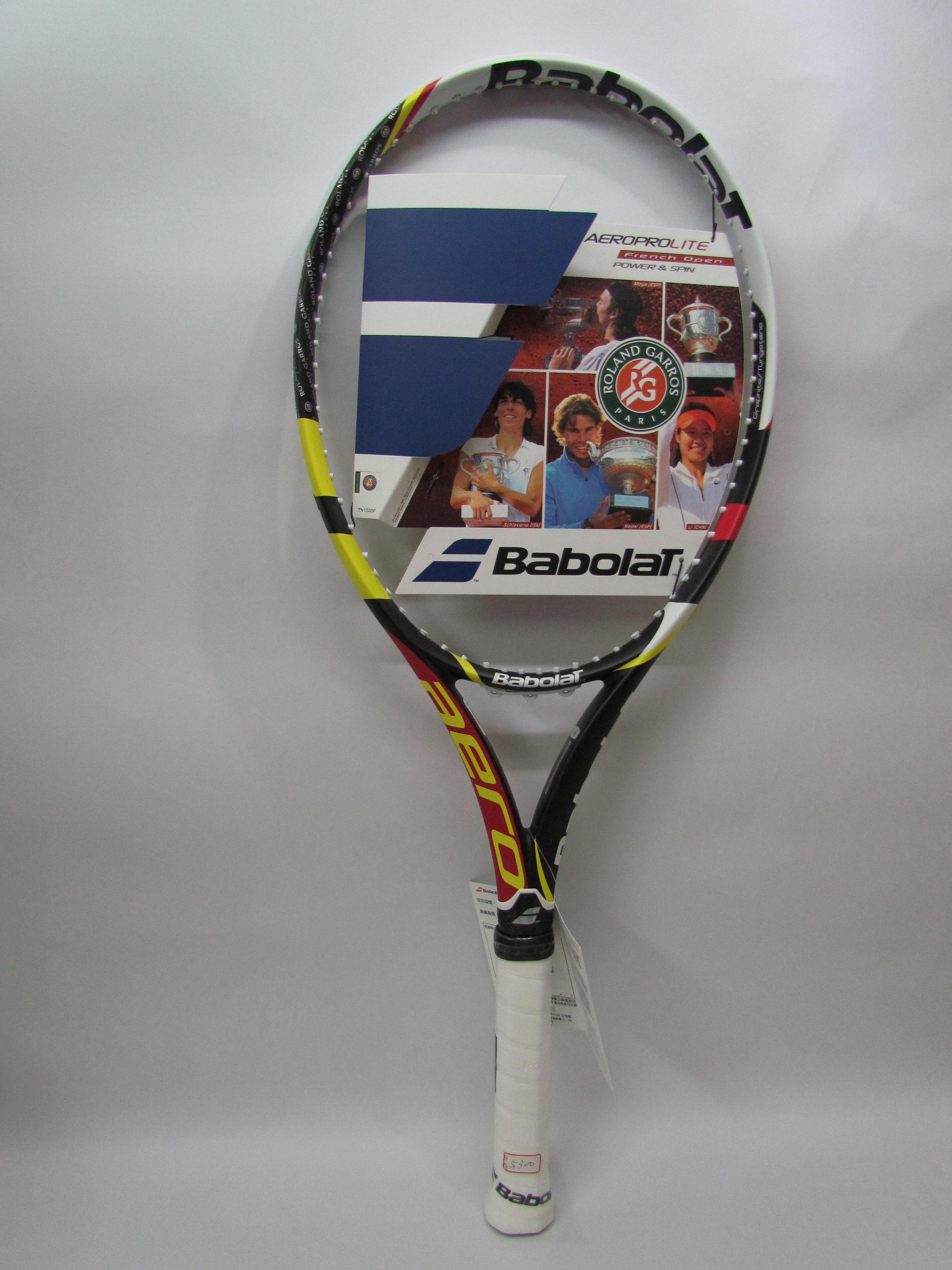 Babolat專業網球拍 Nadal法網紀念款 AeroPro Drive Lite French Open