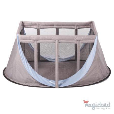 ★衛立兒生活館★法國 Magic Bed 折疊娃娃床 (水藍色)