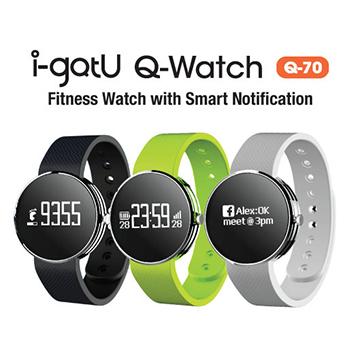 【迪特軍3C】i-gotU Q-Watch 智慧健身手錶 – Q-70