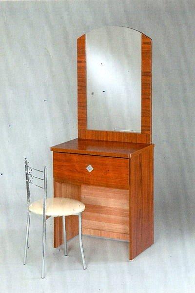 【尚品傢俱】☆特別優惠☆637-09 柚木2尺鏡台化妝台(含椅)~四色可選