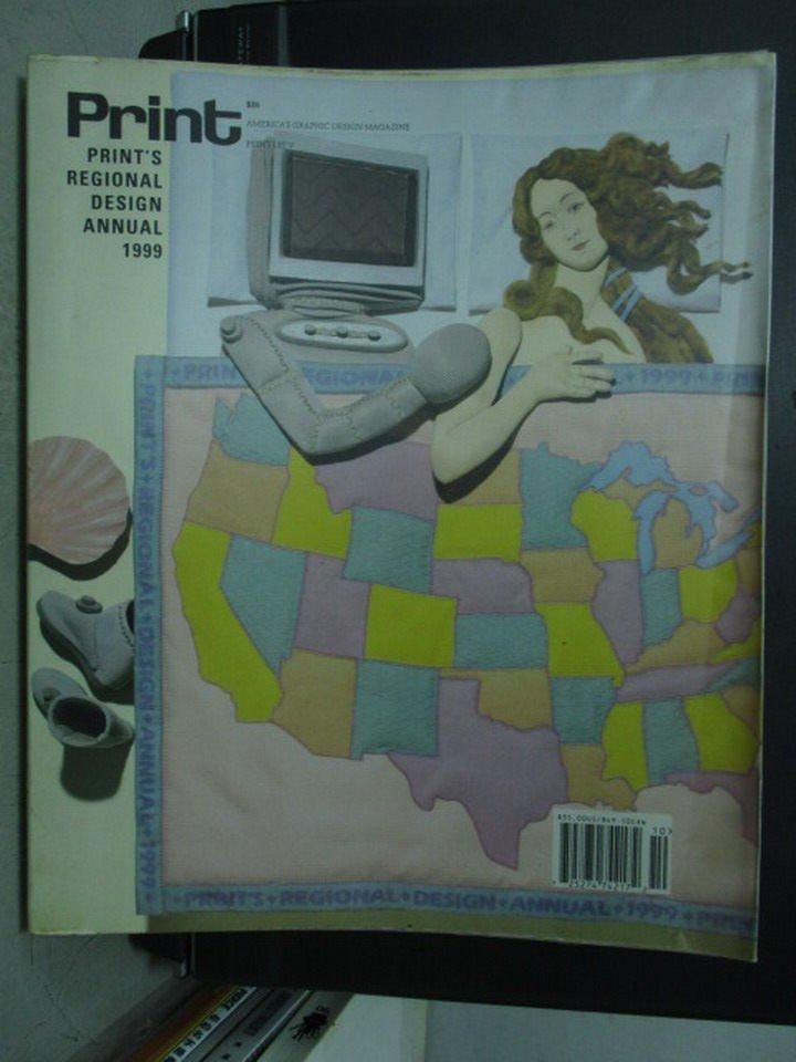 【書寶二手書T5/設計_XCZ】Print's regional design annual 1999
