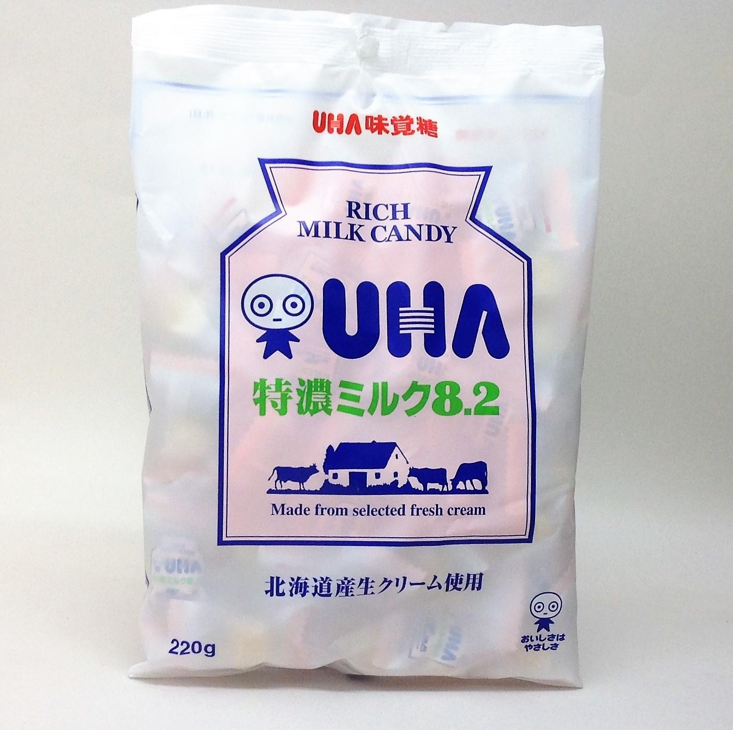 【橘町五丁目】UHA味覺糖特濃8.2牛奶糖-220g