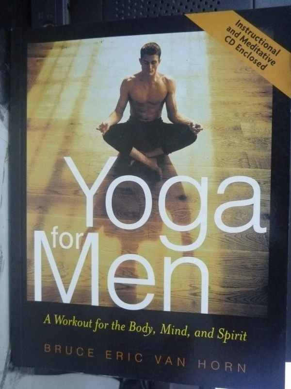 【書寶二手書T5/嗜好_PJF】Yoga for Men: A Workout for the Body_附光碟