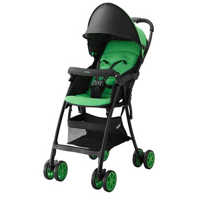 【悅兒樂婦幼用品舘】Aprica 愛普力卡 Magical Air Plus S 超輕量單向嬰幼兒手堆車-奇異果綠